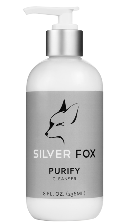 Silver Fox Natural Skincare for the urban man:cleanser