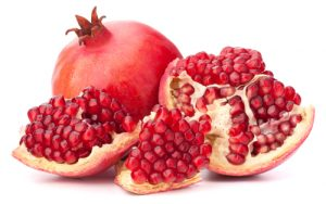 Pomegranate is one of the ingredients of the Silver Fox Natural Skincare